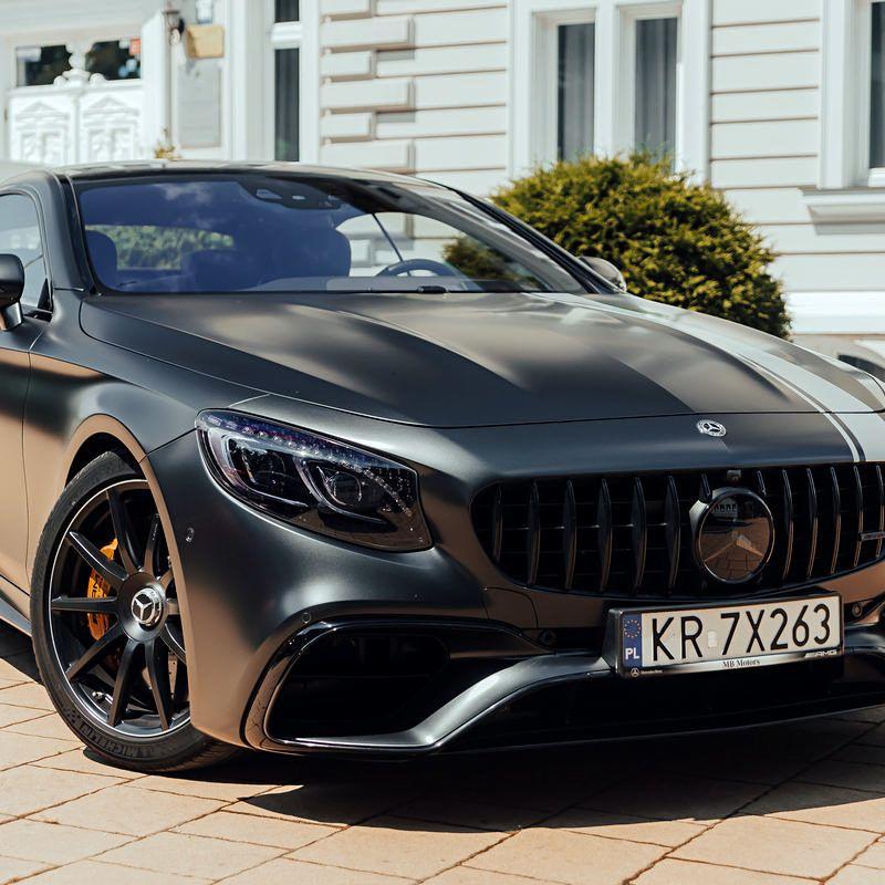 Mercedes S63 Coupe 4MATIC - luxurycars.com.pl