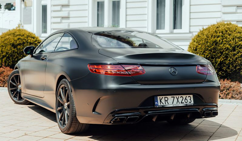 Mercedes S63 Coupe 4MATIC full